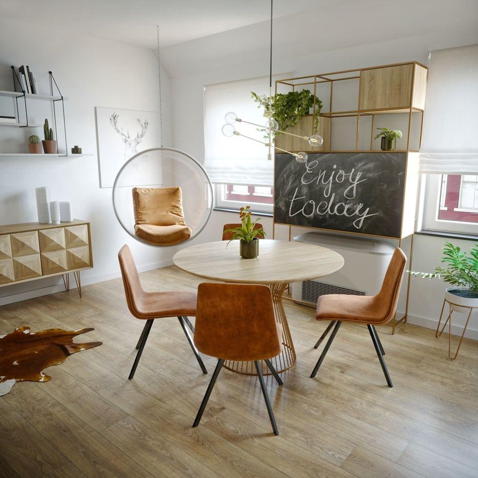 Garzon lakás látványtervezése