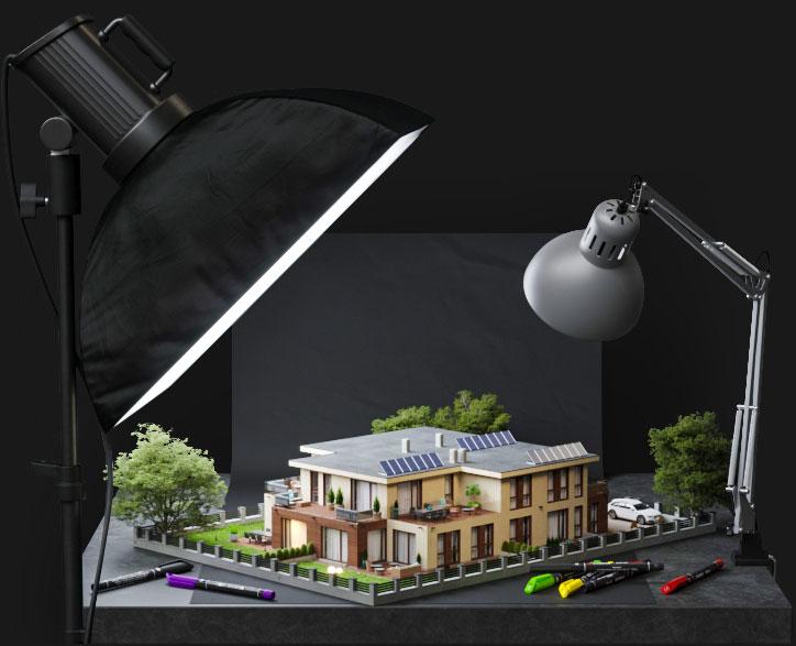 3DRendeer-3d modellezés
